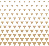 Abstract geometric golden graphic design print triangle halftone pattern Royalty Free Stock Images