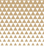 Abstract geometric golden graphic design print triangle halftone pattern Stock Photography