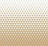 Abstract geometric golden graphic design print triangle halftone pattern Royalty Free Stock Photo