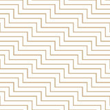 Abstract geometric golden minimal graphic design print lines pattern Royalty Free Stock Photo