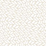Abstract geometric golden trippy cubes 3d illusion pattern. Background stock illustration