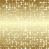 Abstract geometric gold vector background Royalty Free Stock Photo