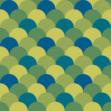 Abstract geometric graphic pattern green color tone background Stock Images