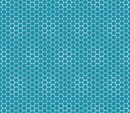 Abstract geometric graphic seamless blue hexagon pattern. Background royalty free illustration