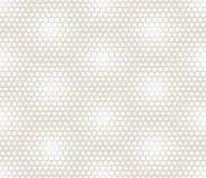 Abstract geometric graphic seamless hexagon pattern. Background royalty free illustration