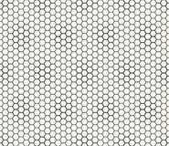 Abstract geometric graphic seamless hexagon pattern. Background stock illustration