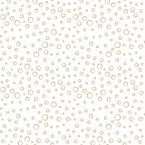 Abstract geometric gray deco vector bubbles pattern. Background stock illustration