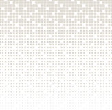 Abstract geometric gray gradient square halftone pattern Stock Images