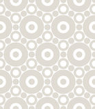 Abstract geometric gray graphic design print circles pattern background Stock Image