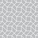 Abstract geometric gray graphic design print 3d illusion pattern background Stock Photo