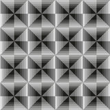 Abstract geometric grey seamless background. Vector. eps-10 Royalty Free Stock Photos