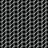 Abstract geometric grid. Black and white minimal graphic design print pattern. Background Royalty Free Stock Photo