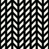 Abstract geometric grid. Black and white minimal graphic design print pattern. Background Stock Photos