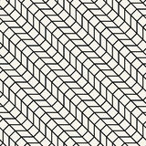 Abstract geometric grid. Black and white minimal graphic design print pattern. Background Stock Image