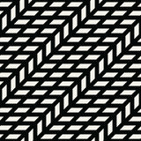 Abstract geometric grid. Black and white minimal graphic design print pattern. Background Stock Photo