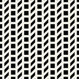 Abstract geometric grid. Black and white minimal graphic design print pattern. Background Royalty Free Stock Image