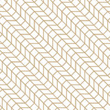 Abstract geometric grid. Gold minimal graphic design print pattern Royalty Free Stock Images