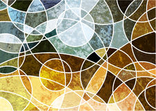 Abstract geometric grunge background Royalty Free Stock Image