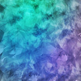 Abstract geometric grunge background chaotic pattern elements, t Stock Photography