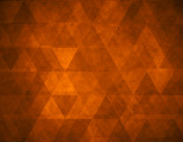 Abstract brown geometric grunge background Stock Photo