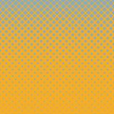 Abstract geometric halftone rounded square pattern background  Royalty Free Stock Photo