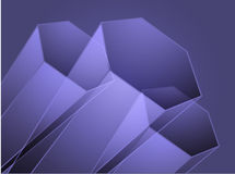 Abstract geometric hexagon design Royalty Free Stock Photo
