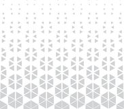 Abstract geometric hexagon halftone gradient pattern. Background Royalty Free Stock Image