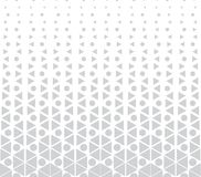 Abstract geometric hexagon halftone gradient pattern. Background Stock Photography