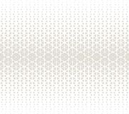 Abstract geometric hexagon halftone gradient pattern. Background royalty free illustration
