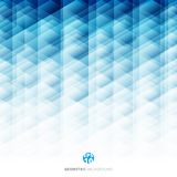 Abstract geometric hexagon pattern blue background, Creative des Stock Images