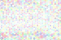 Abstract geometric hexagon pattern, colorful & artistic for graphic design, catalog, textile or texture printing & background. Style of mosaic or tile. Vector Stock Photos