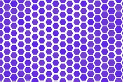 Abstract geometric hexagon pattern, colorful & artistic for graphic design, catalog, textile or texture printing & background. Style of mosaic or tile. Vector Stock Photo