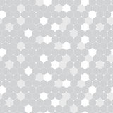 Abstract geometric hexagonal pattern seamless background. Vector illustration Royalty Free Stock Image
