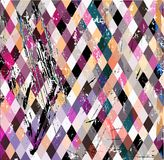 Abstract geometric hipster background Royalty Free Stock Images