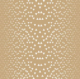 Abstract geometric hipster fashion design print triangle pattern Royalty Free Stock Photos