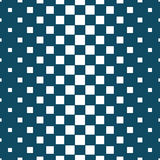 Abstract geometric hipster fashion halftone blue square pattern. Background Royalty Free Stock Image