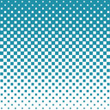 Abstract geometric hipster fashion halftone blue square pattern. Background Royalty Free Stock Images