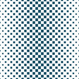 Abstract geometric hipster fashion halftone blue square pattern. Background Stock Photography