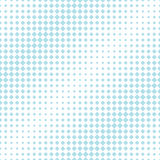 Abstract geometric hipster fashion halftone blue square pattern. Background royalty free illustration