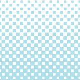 Abstract geometric hipster fashion halftone blue square pattern. Background Royalty Free Stock Photography