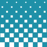 Abstract geometric hipster fashion halftone blue square pattern. Background vector illustration