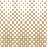 Abstract geometric hipster fashion halftone gold square pattern Stock Photos