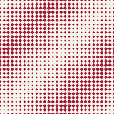 Abstract geometric hipster fashion halftone red square pattern Royalty Free Stock Photography