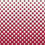 Abstract geometric hipster fashion halftone red square pattern Royalty Free Stock Photos