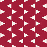 Abstract geometric hipster fashion pillow red pattern background Royalty Free Stock Photography
