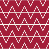 Abstract geometric hipster fashion pillow red pattern background Royalty Free Stock Image