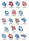 Abstract geometric icons and symbols set Stock Photo