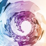 Abstract geometric illustration Royalty Free Stock Photos