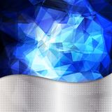 Abstract geometric invitation or poster background Royalty Free Stock Photography