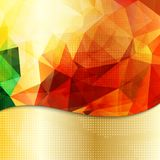 Abstract geometric invitation or poster background Stock Photography